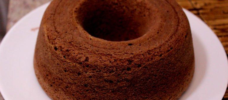 Sobremesa: Bolo de cachaça